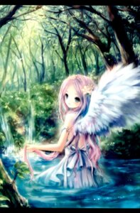 Rating: Safe Score: 69 Tags: dress onineko wet_clothes wings User: Radioactive
