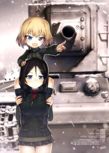 Rating: Safe Score: 30 Tags: girls_und_panzer katyusha nonna rondo_bell uniform User: drop
