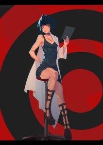 Rating: Safe Score: 25 Tags: cleavage dress heels persona_5 ray_(nagaseray) takemi_tae User: Dreista