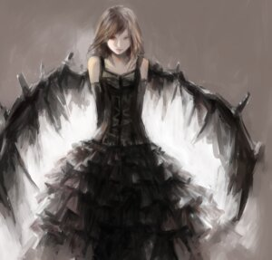 Rating: Safe Score: 26 Tags: dress tsubutsubu_mikan wings User: charunetra