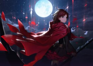 Rating: Safe Score: 65 Tags: dress izumi_sai pantyhose ruby_rose rwby weapon User: Mr_GT