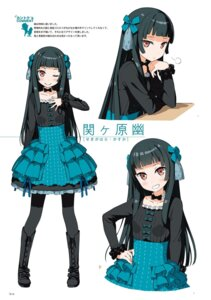 Rating: Safe Score: 21 Tags: dress imouto_sae_ireba_ii. kantoku lolita_fashion pantyhose User: kiyoe