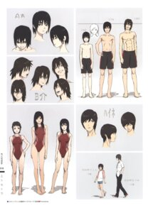 Rating: Safe Score: 10 Tags: character_design nishio_tetsuya swimsuits User: Radioactive
