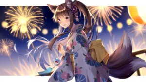 Rating: Safe Score: 33 Tags: animal_ears itsia kitsune tagme tail yukata User: BattlequeenYume