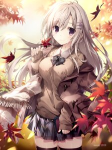Rating: Safe Score: 115 Tags: karory seifuku sweater thighhighs User: yanis