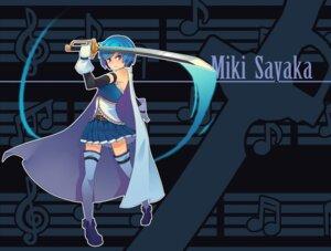 Rating: Safe Score: 14 Tags: doitsu_no_kagaku miki_sayaka puella_magi_madoka_magica sword thighhighs weapon User: Noodoll