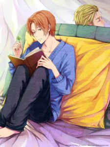 Rating: Safe Score: 2 Tags: germany hetalia_axis_powers male north_italy zxs1103 User: charunetra