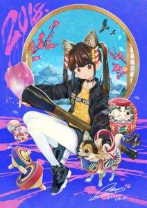Rating: Safe Score: 22 Tags: animal_ears pantyhose tsurushima_tatsumi User: nphuongsun93