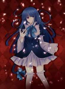 Rating: Safe Score: 12 Tags: frederica_bernkastel lolita_fashion shiina_natsume thighhighs umineko_no_naku_koro_ni User: 洛井夏石