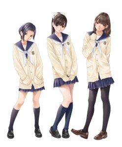 Rating: Safe Score: 42 Tags: heels love_plus pantyhose seifuku sweater tagme User: saemonnokami