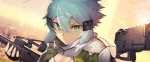 Rating: Safe Score: 19 Tags: cleavage gun nakamura_eito sinon sword_art_online tagme User: Spidey
