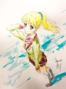 Rating: Safe Score: 14 Tags: nii_manabu paper_texture seifuku sketch tada-kun_wa_koi_wo_shinai teresa_wagner User: Spidey