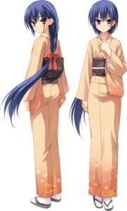 Rating: Safe Score: 31 Tags: kimono muririn nagamitsu_maya noble_works yuzu-soft User: Odin41028