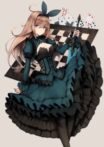 Rating: Safe Score: 37 Tags: cleavage dress inaba_sunimi lolita_fashion sword User: Mr_GT
