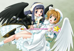 Rating: Safe Score: 11 Tags: card_captor_sakura daidouji_tomoyo dress fuji_shinobu kinomoto_sakura lolita_fashion studio_implant wings User: hentaidude14