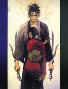 Rating: Safe Score: 3 Tags: asano_rin blade_of_the_immortal manji samura_hiroaki User: Radioactive
