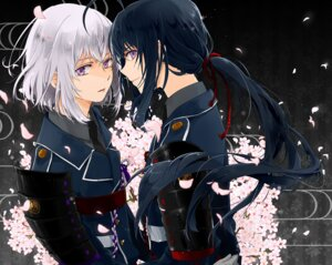 Rating: Questionable Score: 14 Tags: armor honebami_toushirou namazuo_toushirou seifuku tagme touken_ranbu User: 麻里子
