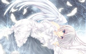 Rating: Safe Score: 37 Tags: angel dress hayase_akira wallpaper wings User: demon2