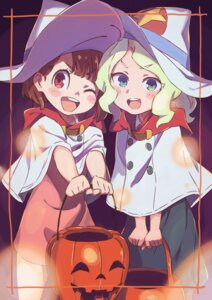 Rating: Safe Score: 26 Tags: atsuko_kagari diana_cavendish dress halloween little_witch_academia tama_(sin05g) witch User: nphuongsun93