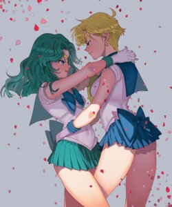 Rating: Safe Score: 17 Tags: aruterra kaiou_michiru sailor_moon tenou_haruka yuri User: charunetra