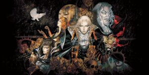 Rating: Safe Score: 8 Tags: alucard_(castlevania) castlevania castlevania:_symphony_of_the_night dracula kojima_ayami konami maria_renard richter_belmont weapon User: Radioactive