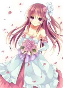 Rating: Safe Score: 68 Tags: dress hakurei_reimu mizumidori touhou wedding_dress User: 椎名深夏