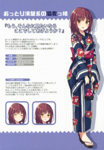 Rating: Safe Score: 38 Tags: bekotarou expression hoobukuro! yukata User: Twinsenzw