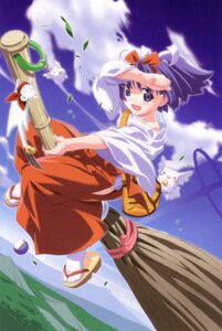 Rating: Safe Score: 10 Tags: miko nono_(popotan) popotan watanabe_akio User: Radioactive
