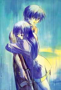 Rating: Safe Score: 5 Tags: chidori_kaname full_metal_panic gun sagara_sousuke shikidouji User: Radioactive