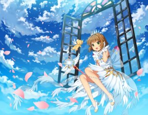 Rating: Safe Score: 38 Tags: card_captor_sakura dress heels kerberos kim_bae-eo kinomoto_sakura see_through weapon User: RyuZU