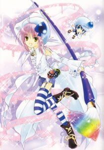 Rating: Safe Score: 4 Tags: amulet_spade hinamori_amu miki shugo_chara thighhighs User: Measure