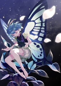 Rating: Safe Score: 17 Tags: bloomers dress eternity_larva fairy feet shayuheisi touhou wings User: charunetra