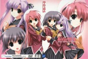 Rating: Safe Score: 9 Tags: boy_meets_girl kasugano_haruna seifuku shingyouji_mao shintarou tsubasa_miu User: admin2