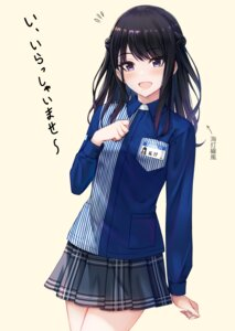 Rating: Safe Score: 18 Tags: kazano_hiori lawson miyar2d2 the_idolm@ster the_idolm@ster_shiny_colors uniform User: Arsy