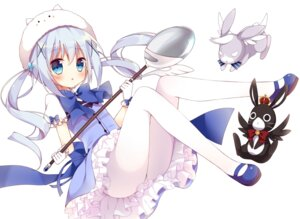 Rating: Safe Score: 46 Tags: gochuumon_wa_usagi_desu_ka? hoshi kafuu_chino pantyhose tippy_(gochuumon_wa_usagi_desu_ka?) waitress User: Mr_GT