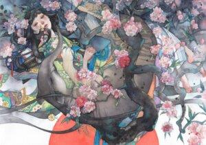 Rating: Safe Score: 6 Tags: kimono shuka User: NotRadioactiveHonest
