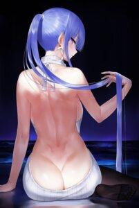 Rating: Questionable Score: 140 Tags: akitaka_akita ass no_bra nopan sweater tagme User: BattlequeenYume