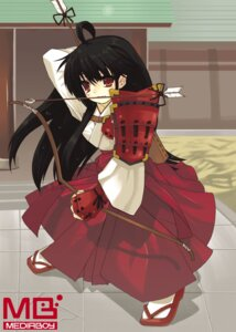 Rating: Safe Score: 7 Tags: japanese_clothes miko tagme watermark User: Radioactive