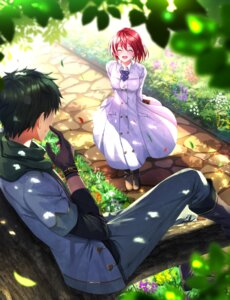 Rating: Safe Score: 30 Tags: akagami_no_shirayukihime dress obi_(akagami_no_shirayukihime) shirayuki_(akagami_no_shirayukihime) swordsouls User: charunetra