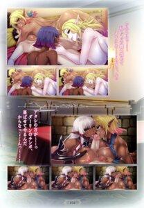 Rating: Explicit Score: 14 Tags: aoi_nagisa_(artist) ass breast_grab breast_hold censored cum elf expression fellatio naked nipples paizuri pointy_ears shirt_lift User: kiyoe
