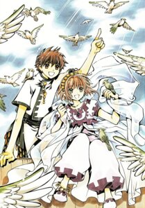 Rating: Safe Score: 7 Tags: clamp kinomoto_sakura li_syaoran tsubasa_reservoir_chronicle User: Share