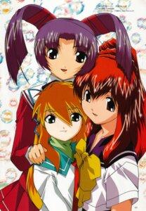Rating: Safe Score: 3 Tags: kingyo_no_ran kitsune_no_akane kobayashi_takashi seifuku tenshi_no_shippo usagi_no_mika User: Radioactive