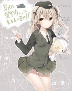 Rating: Questionable Score: 63 Tags: girls_und_panzer komeshiro_kasu pantsu shimada_arisu uniform User: KazukiNanako