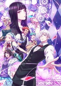 Rating: Questionable Score: 25 Tags: death_parade dequim eyepatch ginti kurokami_no_onna nona_(death_parade) zoff_(daria) User: sylver650