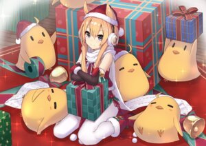 Rating: Safe Score: 47 Tags: animal_ears azur_lane christmas headphones neme1228 pantyhose warspite_(azur_lane) User: RyuZU