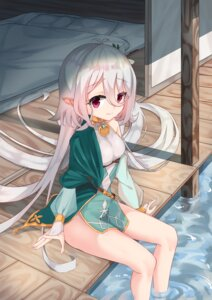 Rating: Safe Score: 29 Tags: dress kokkoro lingnerpoi pointy_ears princess_connect princess_connect!_re:dive wet User: BattlequeenYume