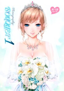 Rating: Safe Score: 16 Tags: cleavage dress tagme wedding_dress User: Radioactive