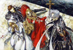 Rating: Safe Score: 4 Tags: abel_nightroad caterina_sforza kate_scott thores_shibamoto tres_iqus trinity_blood User: Radioactive