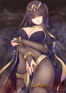Rating: Questionable Score: 18 Tags: bodysuit breast_hold cleavage fire_emblem tagme tharja User: Mr_GT