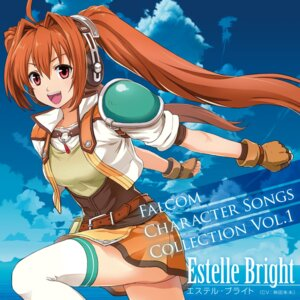 Rating: Safe Score: 17 Tags: armor disc_cover eiyuu_densetsu estelle_bright headphones thighhighs User: blooregardo